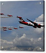 Red Arrows And Lady Penelope Acrylic Print