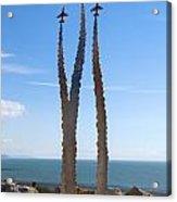Red Arrows Memorial Acrylic Print