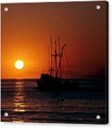 Red At Night Sailor's Delight Acrylic Print