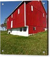 Red Barn Acrylic Print