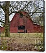 Red Barn Series Picture A Acrylic Print