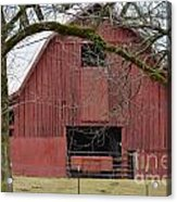 Red Barn Series Picture C Acrylic Print