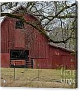 Red Barn Series Picture E Acrylic Print