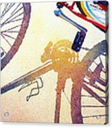 Red Bike Acrylic Print