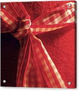 Red Bow Acrylic Print