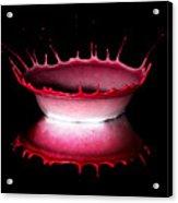 Red Bowl Acrylic Print