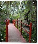 Red Bridge Acrylic Print