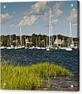 Red Brook Harbor Acrylic Print
