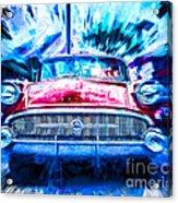 Red Buick  Acrylic Print