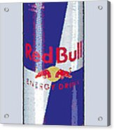 Red Bull Ode To Andy Warhol Acrylic Print