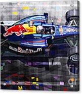 Red Bull Rb6 Vettel 2010 Acrylic Print