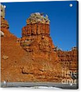 Red Canyon Dixie National Forest Acrylic Print