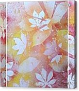 Red Cassava Acrylic Print