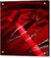Red Chair II Acrylic Print