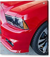 Red Charger 1508 Acrylic Print