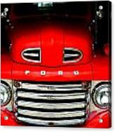 Red Cheeks Ford Acrylic Print