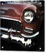 Red Chevy Acrylic Print
