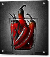 Red Chili Peppers Acrylic Print