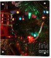 Red Christmas Bell Acrylic Print