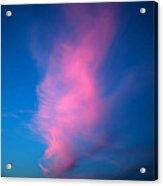 Red Cloud Acrylic Print