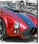 Red Cobra Acrylic Print