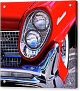 Red Hot Continental Palm Springs Acrylic Print