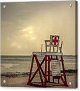 Red Cross Lifeguard Acrylic Print