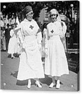 Red Cross Parade, 1918 Acrylic Print