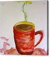 Red Cup Acrylic Print