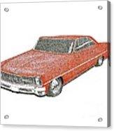 Red Desire Acrylic Print