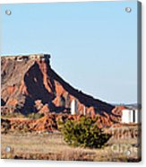 Red Dirt And Oil And Gas Acrylic Print