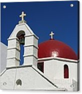 Red Dome Church 2 Acrylic Print
