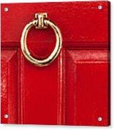 Red Door 02 Acrylic Print
