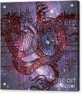 Red Dragon 2 Acrylic Print