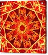 Red Dynasty Acrylic Print