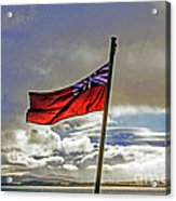 Red Ensign Acrylic Print
