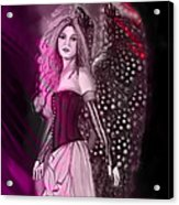 Red Fairy Acrylic Print