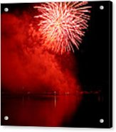 Red Fire Acrylic Print