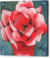 Red Flower Two Acrylic Print