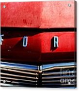 Red Ford 1 Acrylic Print