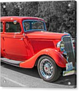 Red Ford 3d21740 Acrylic Print