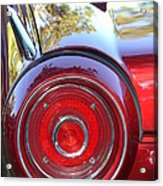 Red Ford Tailight Acrylic Print