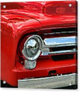 Red Ford Truck Acrylic Print