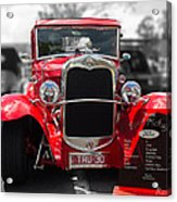 Red Ford Ute Acrylic Print