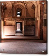 Red Fort Agra India Acrylic Print