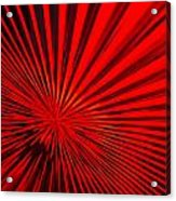 Red Glass Abstract 6 Acrylic Print