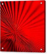 Red Glass Abstract 7 Acrylic Print