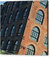 Red Hook Dream Lofts Acrylic Print