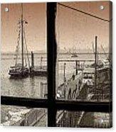 Red Hook Window Acrylic Print