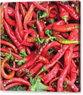 Red Hot Chilli Peppers Acrylic Print